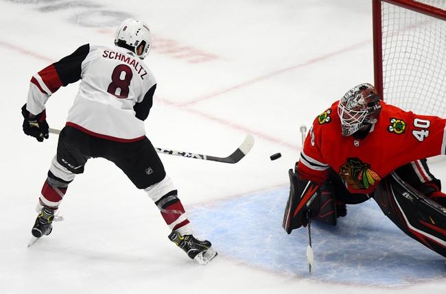 Arizona Coyotes vs. Chicago Blackhawks - 12/12/19 NHL Pick, Odds, and Prediction
