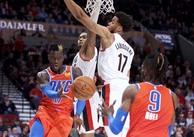 Oklahoma City Thunder vs. Portland Trail Blazers - 1/18/20 NBA Pick, Odds & Prediction