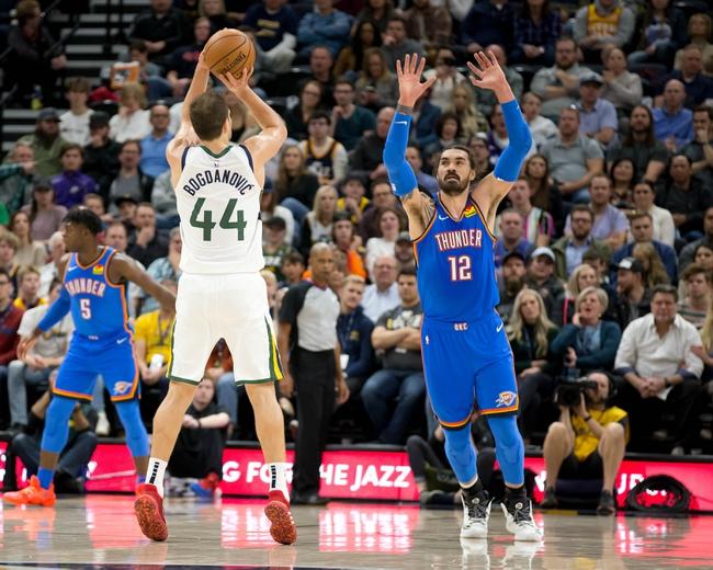 Utah Jazz at Oklahoma City Thunder - 3/11/20 NBA Picks and Prediction