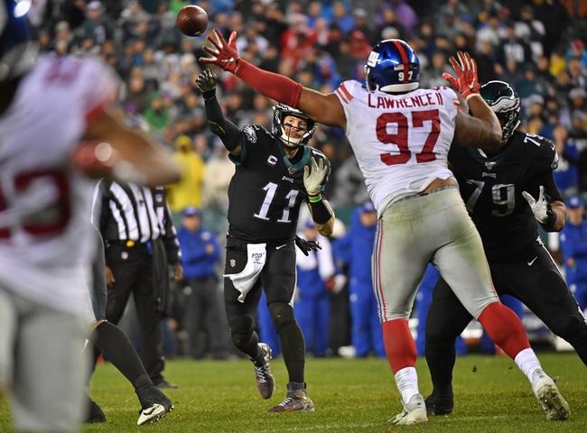 New York Giants vs. Philadelphia Eagles - 12/29/19 NFL Pick, Odds, and Prediction