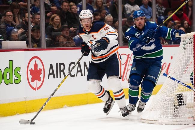 Vancouver Canucks vs. Edmonton Oilers - 12/23/19 NHL Pick, Odds, and Prediction