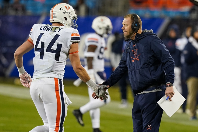 Virginia Cavaliers 2020 Win Total - College Football Pick, Odds and Prediction