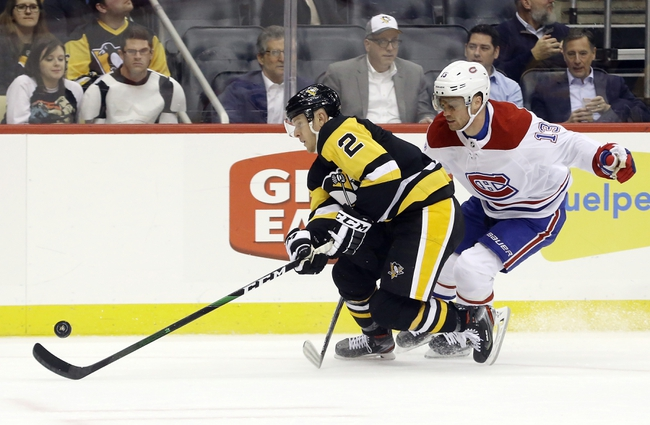 Montreal Canadiens vs. Pittsburgh Penguins - 1/4/20 NHL Pick, Odds, and Prediction