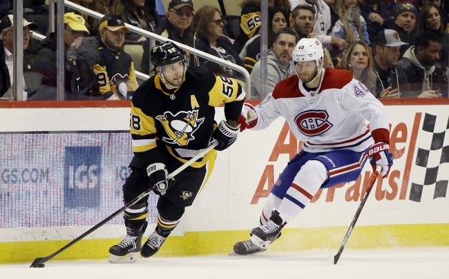 Montreal Canadiens vs. Pittsburgh Penguins - 1/4/20 NHL Pick, Odds & Prediction