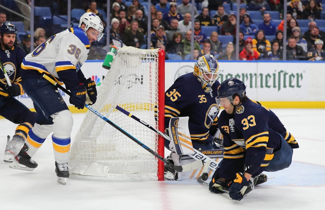 St. Louis Blues vs. Buffalo Sabres - 1/9/20 NHL Pick, Odds & Prediction