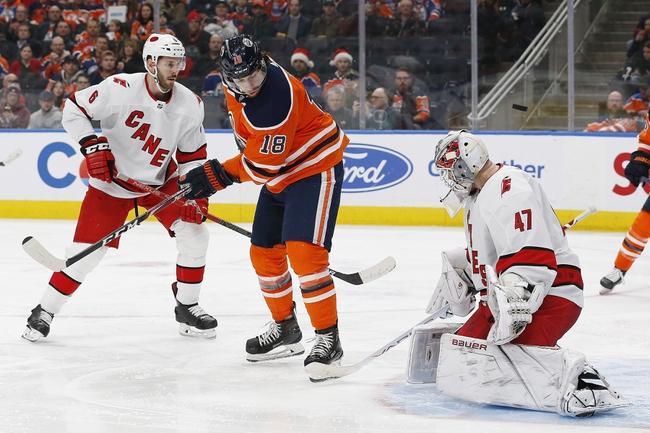 Carolina Hurricanes vs. Edmonton Oilers - 2/16/20 NHL Pick, Odds & Prediction