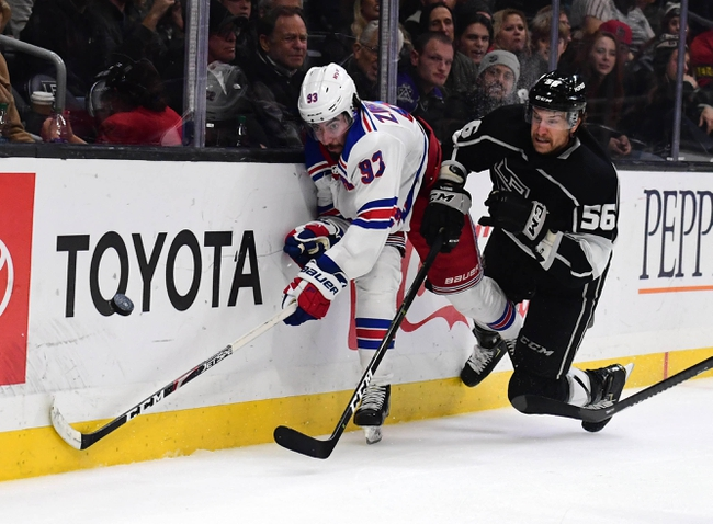 New York Rangers vs. Los Angeles Kings - 2/9/20 NHL Pick, Odds & Prediction