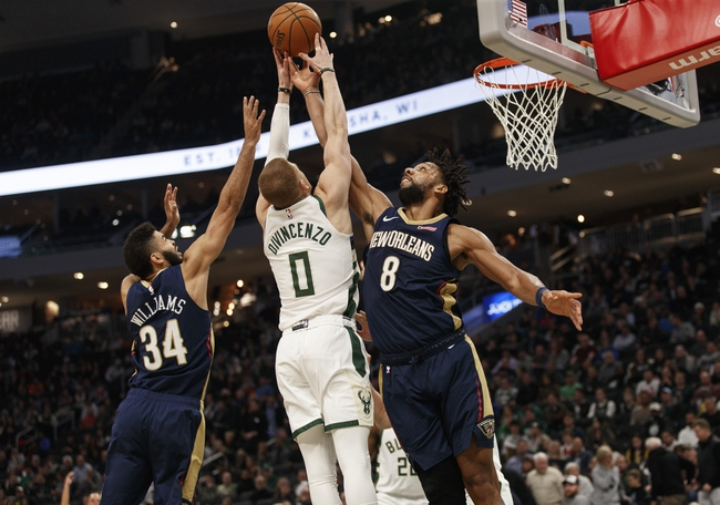New Orleans Pelicans vs. Milwaukee Bucks - 2/4/20 NBA Pick, Odds & Prediction