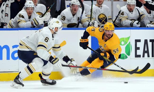 Nashville Predators vs. Buffalo Sabres - 1/18/20 NHL Pick, Odds & Prediction