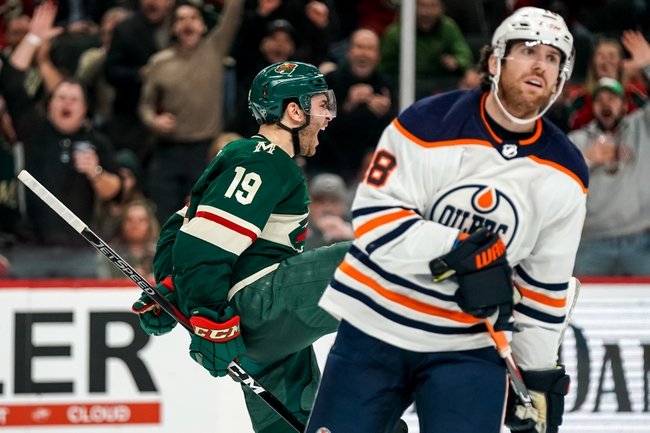 Edmonton Oilers vs. Minnesota Wild - 2/21/20 NHL Pick, Odds, and Prediction