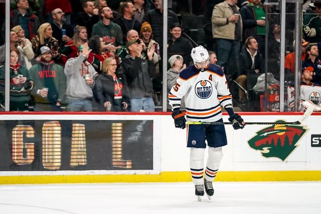 Edmonton Oilers vs. Minnesota Wild - 2/21/20 NHL Pick, Odds & Prediction