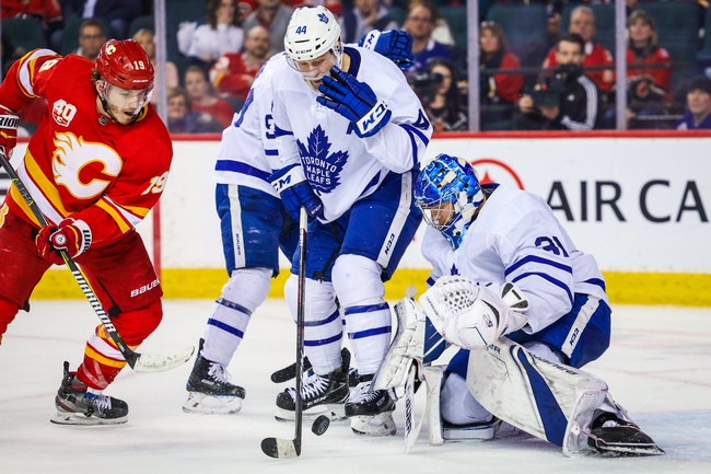 Toronto Maple Leafs vs. Calgary Flames - 1/16/20 NHL Pick, Odds, and Prediction