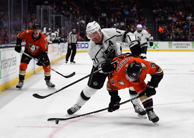 Los Angeles Kings vs. Anaheim Ducks - 2/1/20 NHL Pick, Odds, and Prediction