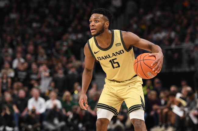 UIC vs. Oakland - 2/29/20 College Basketball Pick, Odds, and Prediction