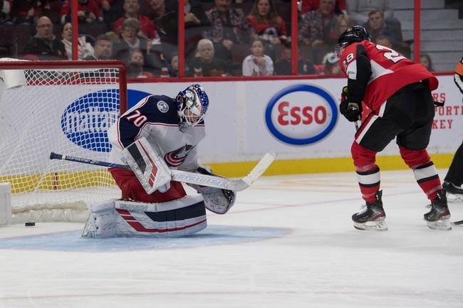 Columbus Blue Jackets vs. Ottawa Senators - 2/24/20 NHL Pick, Odds, and Prediction
