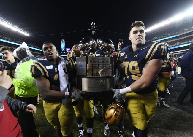 Navy at Army 12/12/20 College Football Picks and Predictions