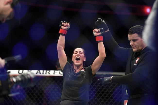 Cynthia Calvillo vs. Jessica Eye - 6/13/20 UFC Fight Night 172 Pick and Prediction