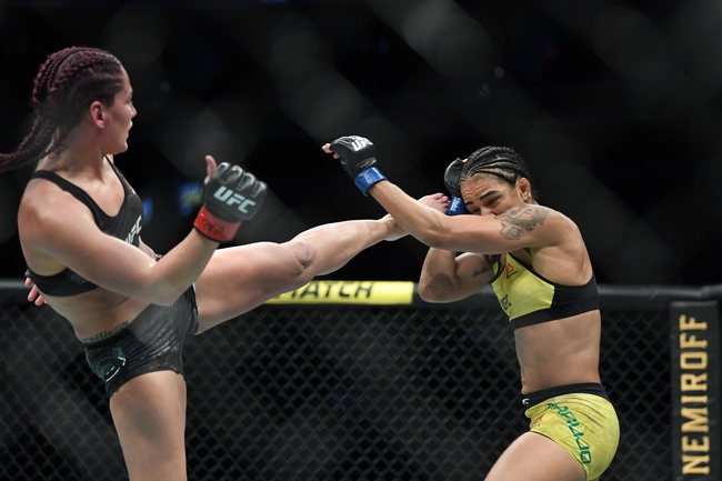Cynthia Calvillo vs. Jessica Eye - 6/13/20 UFC Fight Night 172 Pick, Odds, and Prediction