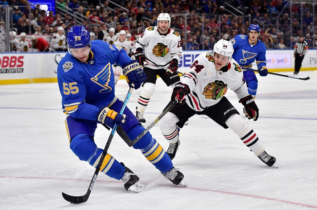 St. Louis Blues vs. Chicago Blackhawks - 2/25/20 NHL Pick, Odds, and Prediction