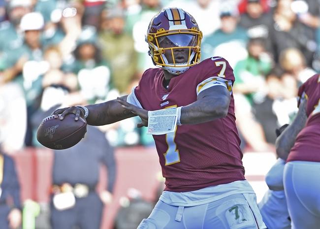 Washington Redskins vs. New York Giants - 12/22/19 NFL Pick, Odds & Prediction
