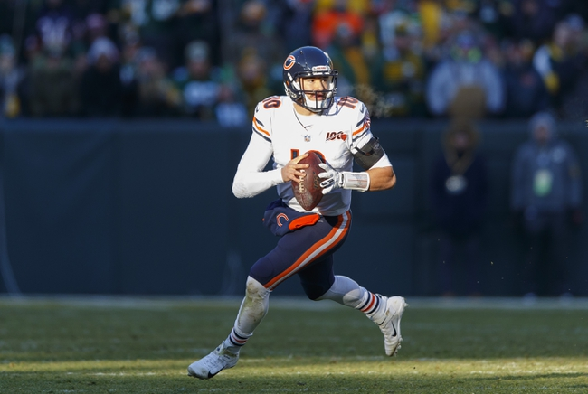 Chicago Bears Starting Quarterback Week 1 2020 - NFL Pick, Odds, and Prediction