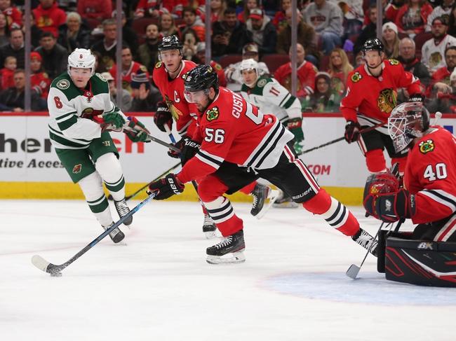 Minnesota Wild vs. Chicago Blackhawks - 2/4/20 NHL Pick, Odds, and Prediction