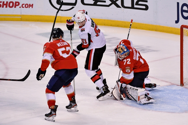 Ottawa Senators vs. Florida Panthers - 1/2/20 NHL Pick, Odds & Prediction