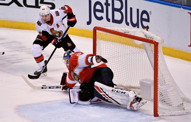 Ottawa Senators vs. Florida Panthers - 1/2/20 NHL Pick, Odds, and Prediction