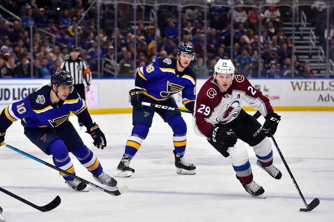 Colorado Avalanche vs. St. Louis Blues - 1/2/20 NHL Pick, Odds & Prediction