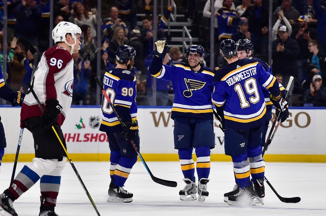 Colorado Avalanche vs. St. Louis Blues - 1/2/20 NHL Pick, Odds, and Prediction