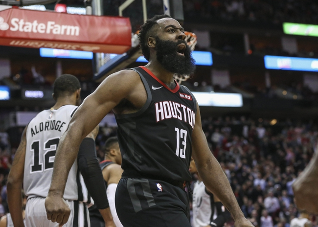 Houston Rockets at San Antonio Spurs - 8/11/20 NBA Picks and Prediction