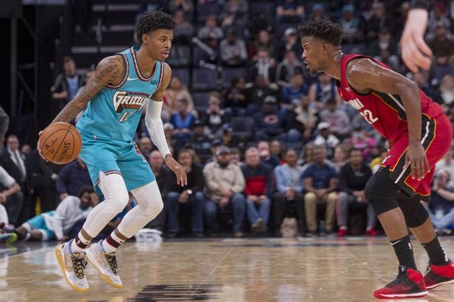 Miami Heat vs. Memphis Grizzlies - 7/28/20 NBA Pick, Odds, and Prediction