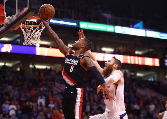 Portland Trail Blazers vs. Phoenix Suns - 12/30/19 NBA Pick, Odds & Prediction