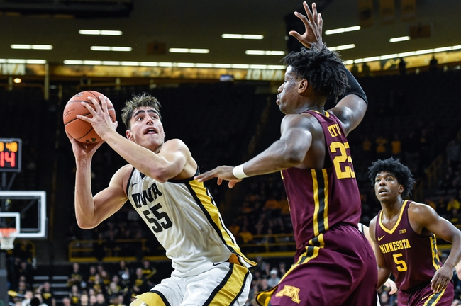 Minnesota vs. Iowa - 2/16/20 College Basketball Pick, Odds & Prediction