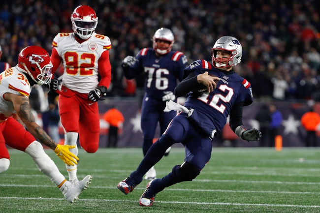 New England Patriots vs. Kansas City Chiefs - 4/26/20 Madden 20 Sim NFL Pick, Odds, and Prediction