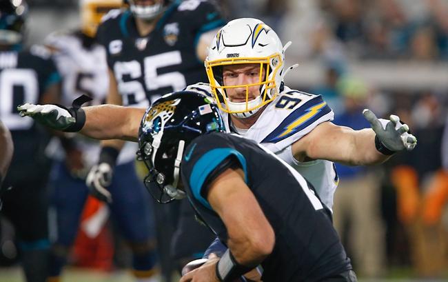 Week 7: Los Angeles Chargers vs Jacksonville Jaguars 10/25/20 NFL Picks Odds, Predictions