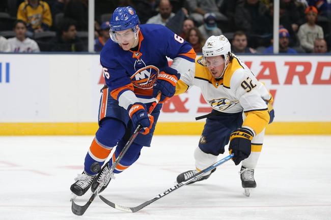 Nashville Predators vs. New York Islanders - 2/13/20 NHL Pick, Odds, and Prediction