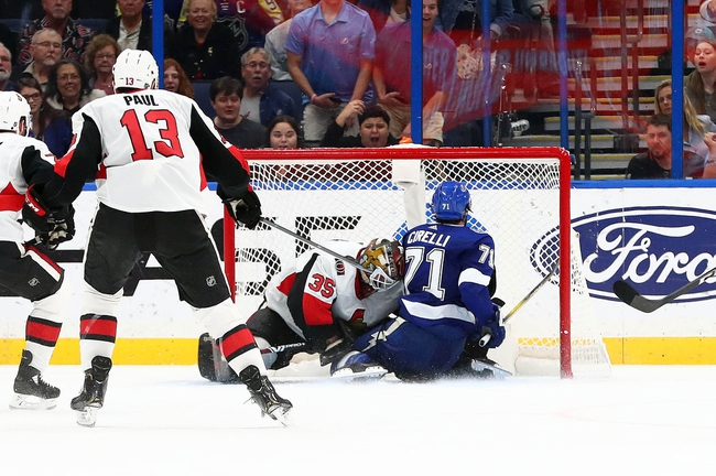 Ottawa Senators vs. Tampa Bay Lightning - 1/4/20 NHL Pick, Odds & Prediction
