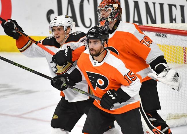 Anaheim Ducks vs. Philadelphia Flyers - 12/29/19 NHL Pick, Odds & Prediction