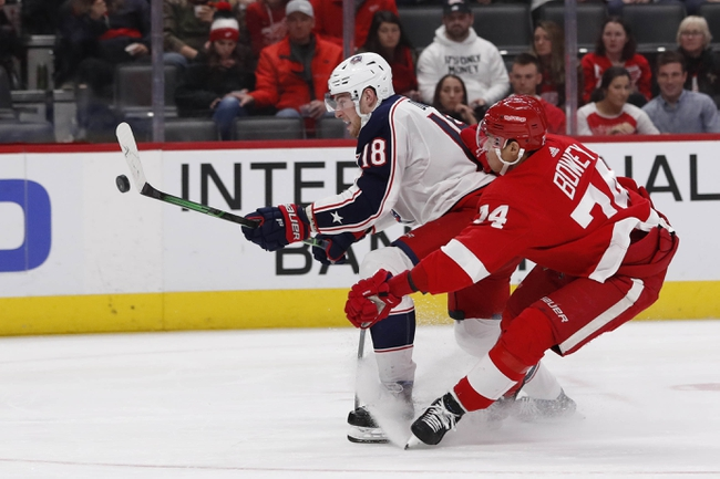 Columbus Blue Jackets vs. Detroit Red Wings - 2/7/20 NHL Pick, Odds, and Prediction