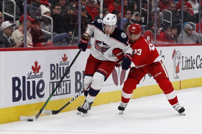 Columbus Blue Jackets vs. Detroit Red Wings - 2/7/20 NHL Pick, Odds & Prediction