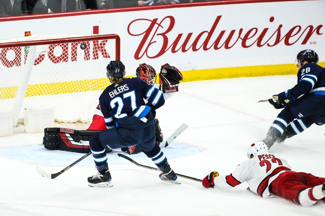 Carolina Hurricanes vs. Winnipeg Jets - 1/21/20 NHL Pick, Odds, and Prediction