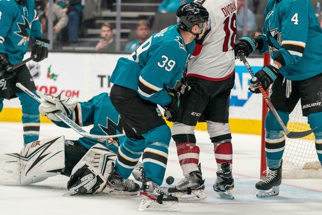 Arizona Coyotes vs. San Jose Sharks - 1/14/20 NHL Pick, Odds, and Prediction