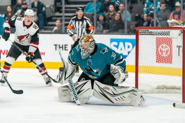 Arizona Coyotes vs. San Jose Sharks - 1/14/20 NHL Pick, Odds & Prediction