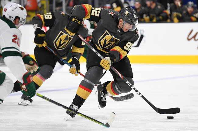Vegas Golden Knights at Minnesota Wild - 3/12/20 NHL Picks and Prediction