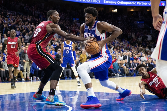 Miami Heat vs. Philadelphia 76ers - 12/28/19 NBA Pick, Odds & Prediction