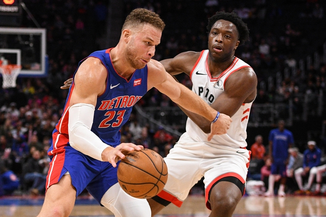 Detroit Pistons vs. Toronto Raptors - 1/31/20 NBA Pick, Odds, and Prediction
