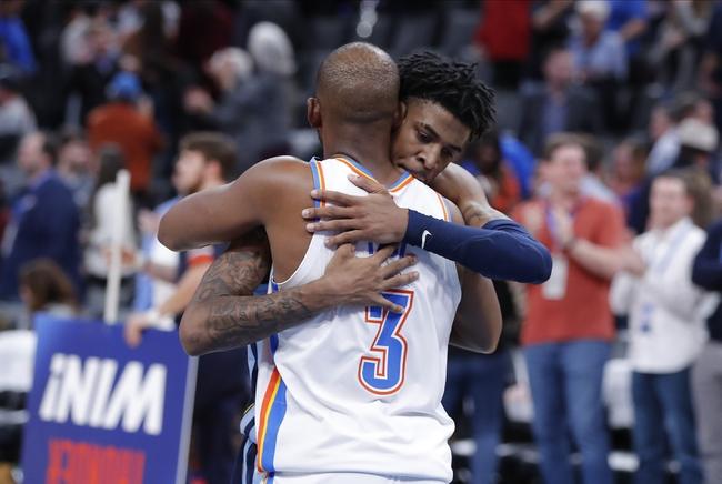 Oklahoma City Thunder vs. Memphis Grizzlies - 12/26/19 NBA Pick, Odds, and Prediction