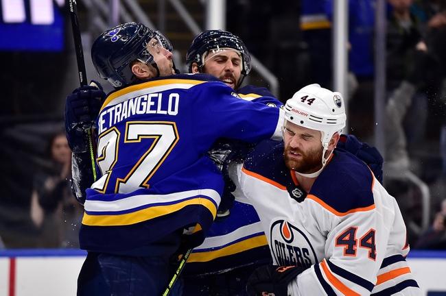 Edmonton Oilers vs. St. Louis Blues - 1/31/20 NHL Pick, Odds & Prediction