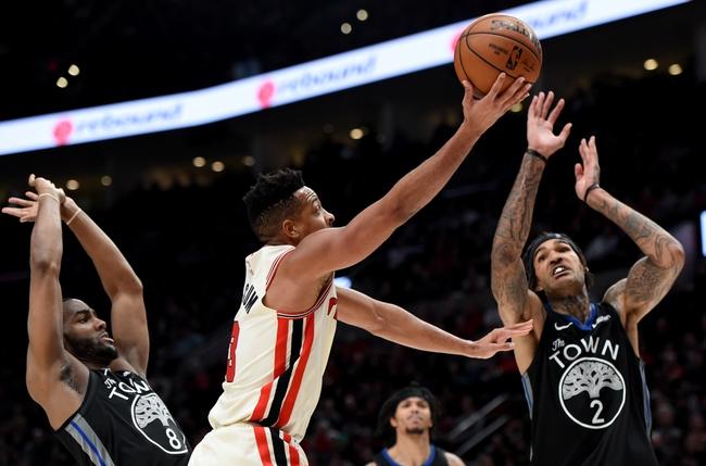 Portland Trail Blazers vs. Golden State Warriors - 1/20/20 NBA Pick, Odds & Prediction